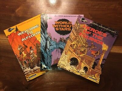 Valerian Spatiotemporal Agent: Lot Of 3 World Without Stars; Welcome To Alflolol