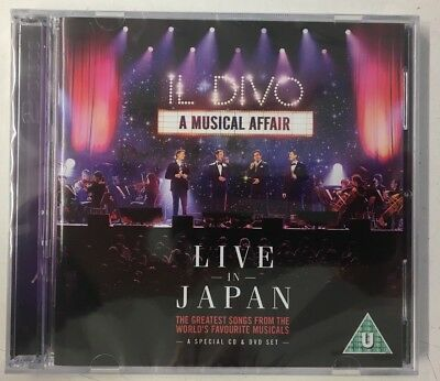 Il Divo A Musical Affair: Live In Japan CD+DVD, Live