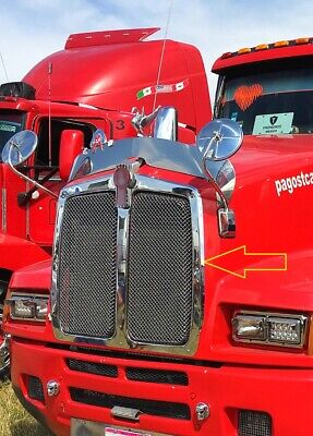 Kenworth T600 Stainless Steel Grille Frame # 402