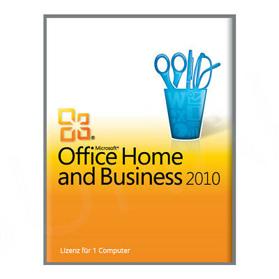 microsoft office home and business 2010 lizenzschl ssel. Black Bedroom Furniture Sets. Home Design Ideas