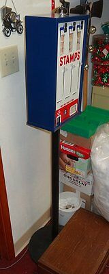 Vintage Postage Stamp Vending Machine, With Stand & Inserts, Very Gemmy!