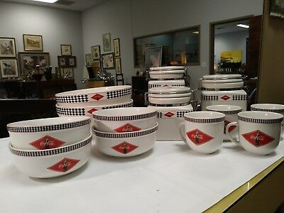 Coca-Cola Vintage-Style Bowl, Mug, and Cannister Collection Set