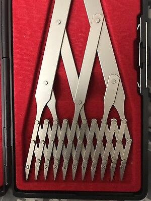Weems & Plath Professional Ten Point Divider # 719B Made In Germany