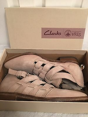 Clarks Ladies DANIKA STYLE TAUPE LEATHER Spring/Summer Shoes Size UK 6 D  BNIB