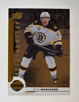 2017-18 Upper Deck UD Series 1 Shining Stars Left Wingers 3 Brad Marchand