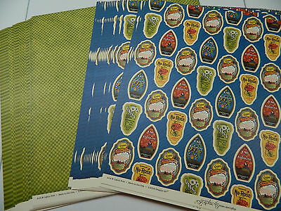 """Graphic 45 Scrapbook Paper 12x12 Fashionista """"Perfumeries"""" Lot 50 Double Sided!"""