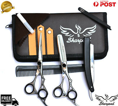 New Professional Hair Cutting Scissors Shears Barber Salon Hairdressing With Bag