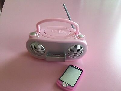 "18"" doll radio mp3 music player fits American Girl Our Generation toy"
