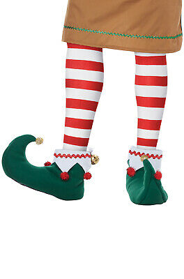 Brand New Santa's Helper Adult Elf Shoes Christmas Accessory