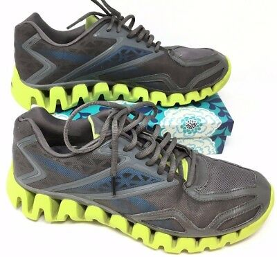 790711aa668 ... discount code for mens reebok zigtech zigsonic size 10 sneakers shoes  running gray green g11 . ...