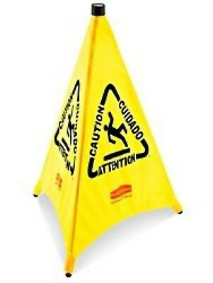 """Rubbermaid 30"""" Pop-up Safety Cone 9S01"""