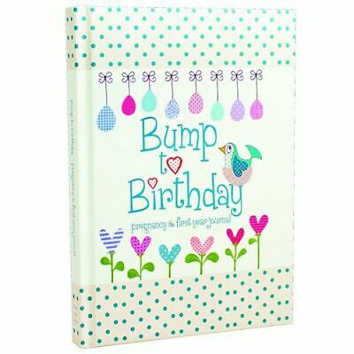 NEW Bump to Birthday, Pregnancy & First Year Journal Diary, Journal or Blank Boo
