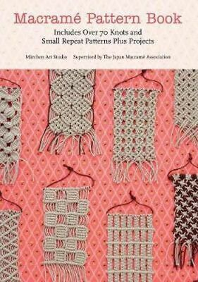 NEW Macrame Pattern Book By Marchen Art Studio Paperback Free Shipping