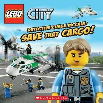 NEW Lego City By Scholastic, Inc. Paperback Free Shipping