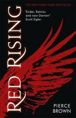 NEW Red Rising By Pierce Brown Paperback Free Shipping