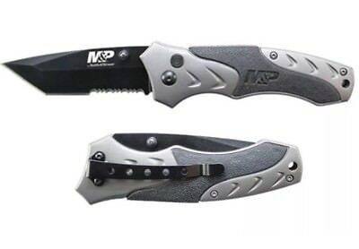 M&P by SMITH & WESSON TACTICAL FOLDING POCKET KNIFE w/Plunge Lock (SWMP7TS)NEW