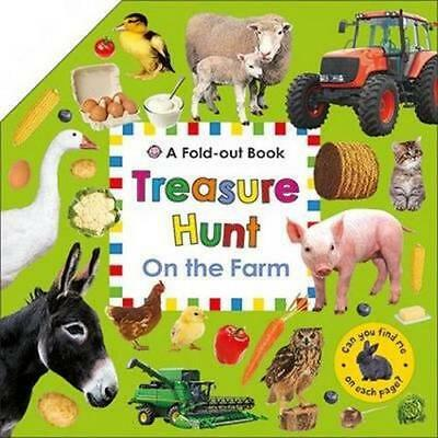 NEW On the Farm By Roger Priddy Board Book Free Shipping