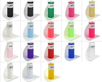 """Expo Glitter Tulle Spool 6"""" x 10 Yards"""