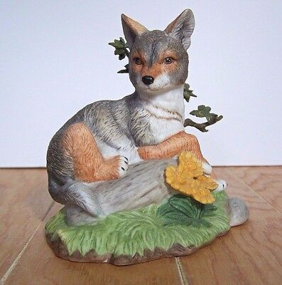 Lenox Coyote Peaceful Afternoon Figurine Mint Condition