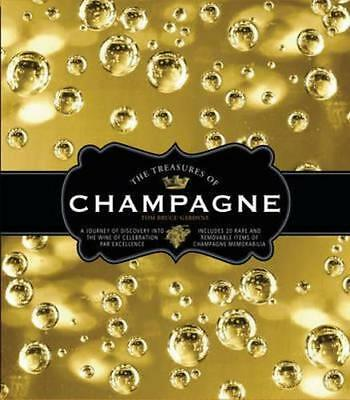 NEW The Treasures of Champagne By Tom Bruce-Gardyne Hardcover Free Shipping