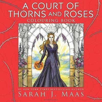 NEW A Court of Thorns and Roses Colouring Book By Sarah J. Maas Paperback