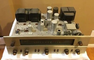 Fisher 500-B Tube Receiver  ** For Parts Or Repair **