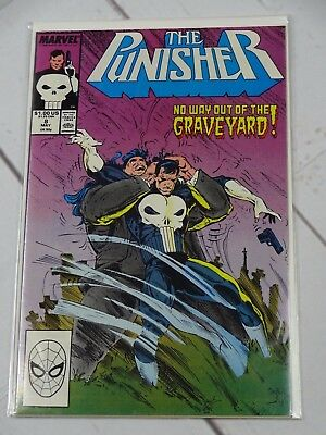 The Punisher #8 (1987) Bagged and Boarded - C2101