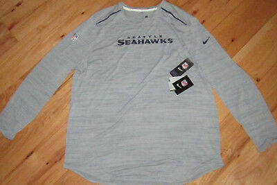 NIKE Licensed NFL Seattle Seahawks Dri-Fit Pro Training shirt NWT XXL mens    70 7774d2dd9