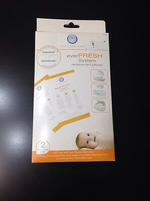 Prince Lionheart Ever FRESH System Replacement Pillow 2 Pack NIB