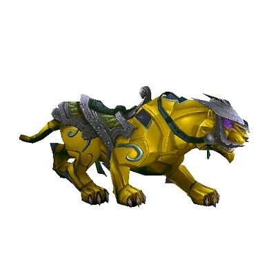 Sunstone Panther ✯ WoW Mount ✯ All EURO Realms