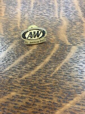 A&W Root beer All American Food Employee Pin