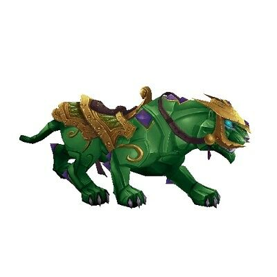 Jade Panther ✯ WoW Mount ✯ All EURO Realms