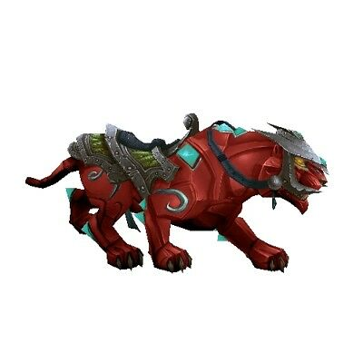Ruby Panther ✯ WoW Mount ✯ All EURO Realms