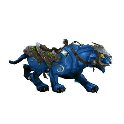 Sapphire Panther ✯ WoW Mount ✯ All EURO Realms