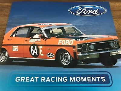 Australia - 2017 - Ford GREAT RACING MOMENTS Stamp Pack Collection