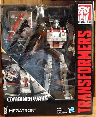 Transformers Generations Combiner Wars Leader Class G1 Megatron MISB
