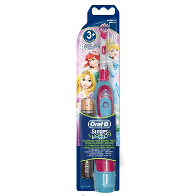"Oral-B brosse à dents à piles ""Disney Princesse"""