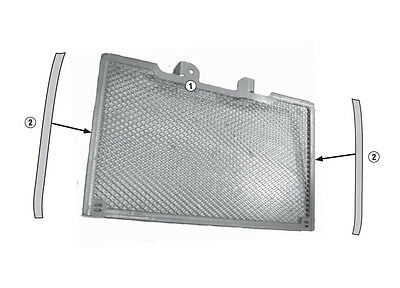 Protection specification for radiator stainless steel GIVI PR1146 painted black