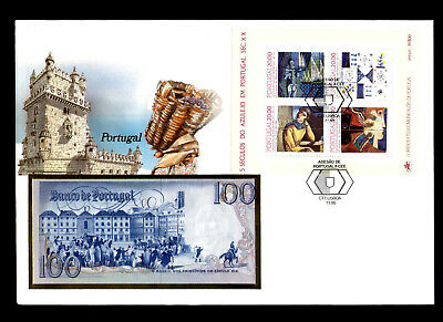Banknotenbrief Portugal 1986, Philswiss