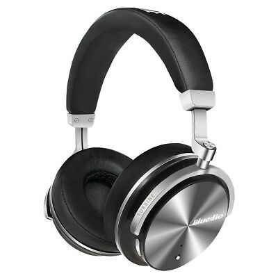 BLUEDIO T4S Bluetooth Headphones Wireless Headphones With Noise Cancelling