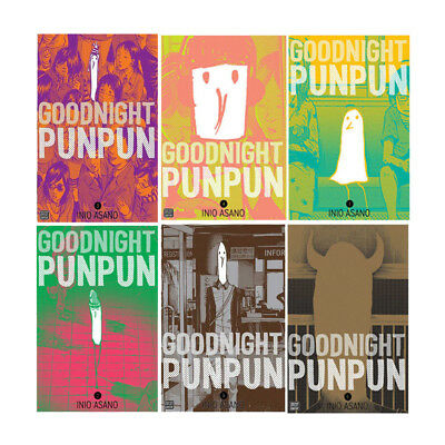 Goodnight Punpun  6 Books Collection Set By Inio Asano Paperback NEW UK