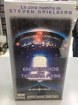 ENCUENTROS EN LA TERCERA FASE The collectors Edition Vhs