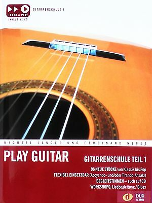 Langer/Neges - Play Guitar Band 1