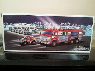 Hess* 2005* Toy* Emergency* Truck* With* Rescue* Vehicle* Mib*
