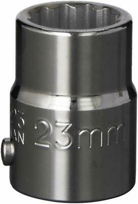 Williams 33623 3/4 Drive Standard 12-Point Socket with 23mm Opening