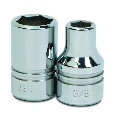 Williams ST-619 1/2 Drive Shallow Socket, 6 Point, 19/32-Inch