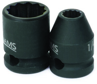 Williams 36610 3/8-Inch Drive 10mm Standard Impact 12-Point Socket