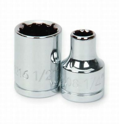 Williams 31208 3/8-Inch Drive 12 Point Shallow Socket, 1/4-Inch