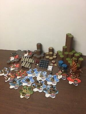 HEROSCAPE MASTER SET - RISE OF THE VALKYRIE - 99% Complete