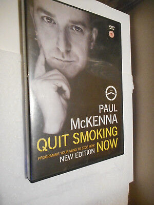 "Paul McKenna ""Quit smoking now"" DVD New Edition Self Help - Mind Empowerment"